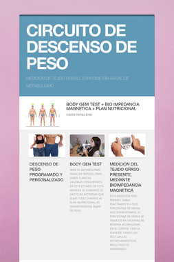 CIRCUITO DE DESCENSO DE PESO