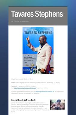 Tavares Stephens