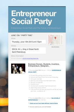 Entrepreneur Social Party