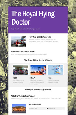 The Royal Flying Doctor