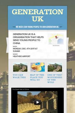 generation uk