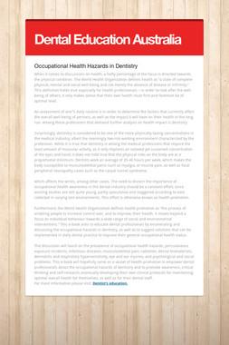 Dental Education Australia