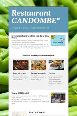 Restaurant CANDOMBE*