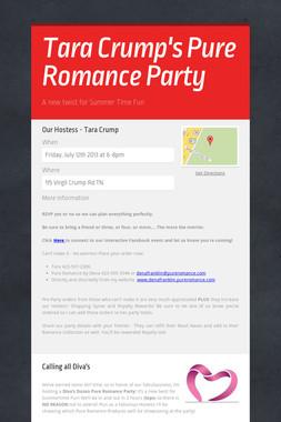 Tara Crump's Pure Romance Party