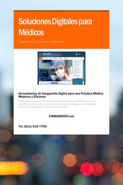 Soluciones Digitales para Médicos
