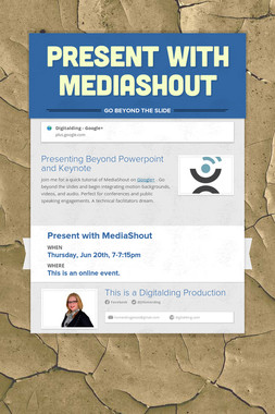 Present with MediaShout