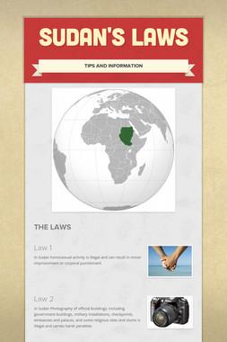 Sudan's Laws