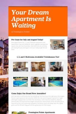 Your Dream Apartment Is Waiting
