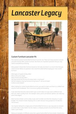 Lancaster Legacy