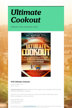 Ultimate Cookout