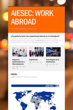 AIESEC: WORK ABROAD
