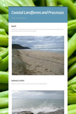 Coastal Landforms and Processes