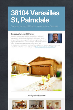 38104 Versailles St,  Palmdale