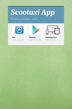 Scootaxi App