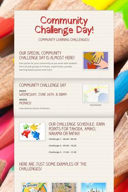 Community Challenge Day!
