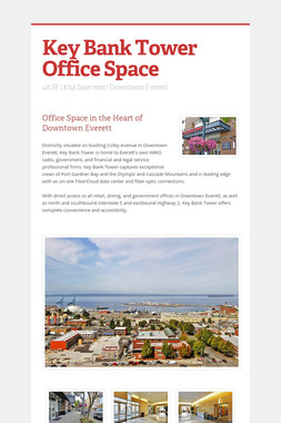 Key Bank Tower Office Space