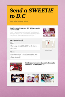 Send a SWEETIE to D.C