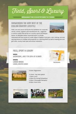 Field, Sport & Luxury