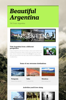 Beautiful Argentina
