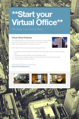 **Start your Virtual Office**