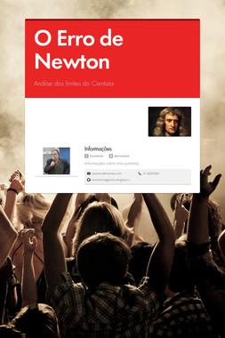 O Erro de Newton