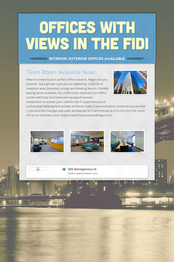 Offices with Views in the FiDi
