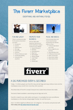 The Fiverr Marketplace