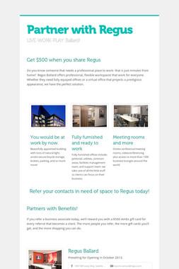 Partner with Regus
