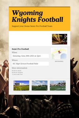 Wyoming Knights Football