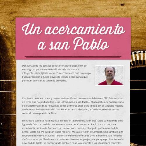 Un acercamiento a san Pablo