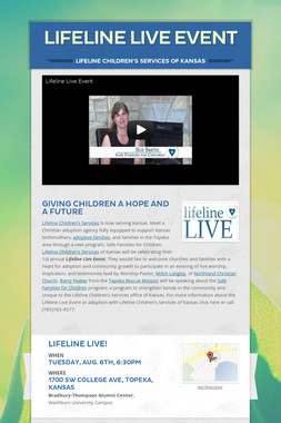 Lifeline Live Event