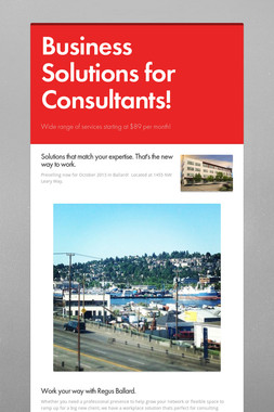 Business Solutions for Consultants!