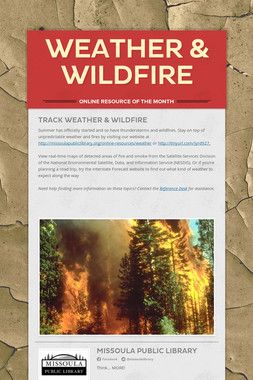 Weather & Wildfire