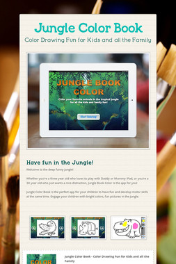 Jungle Color Book