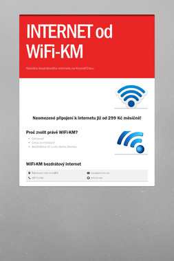 INTERNET od WiFi-KM