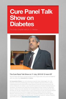 Cure Panel Talk Show on Diabetes