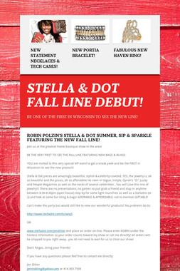 STELLA & DOT FALL LINE DEBUT!