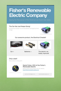 Fisher's Renewable Electric Company