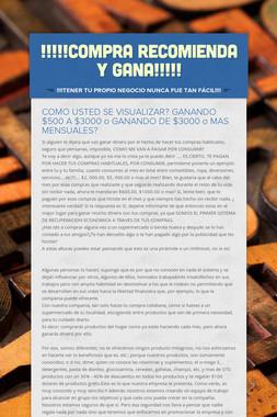 !!!!!COMPRA RECOMIENDA Y GANA!!!!!