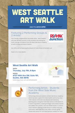 West Seattle Art Walk
