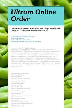 Ultram Online Order