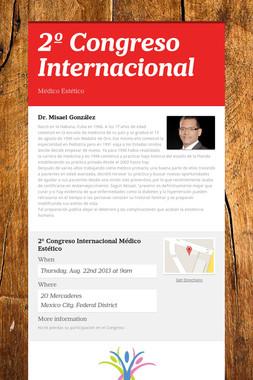 2º Congreso Internacional