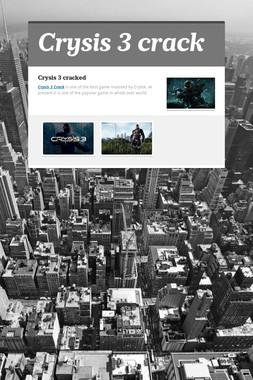 Crysis 3 crack