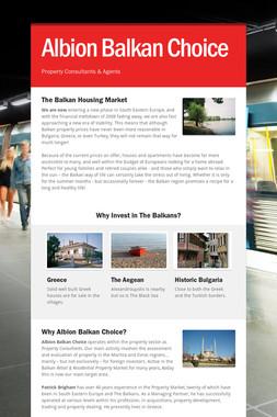 Albion Balkan Choice