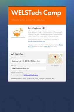 WELSTech Camp