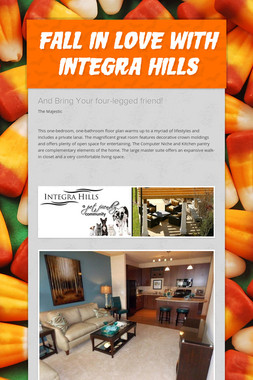 Fall In Love With Integra Hills