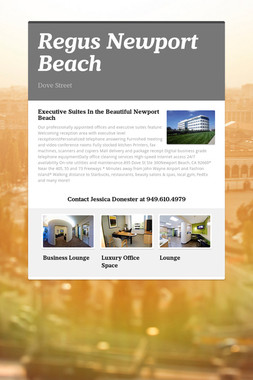 Regus Newport Beach