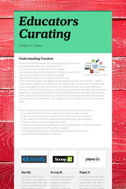 Educators Curating