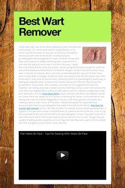 Best Wart Remover
