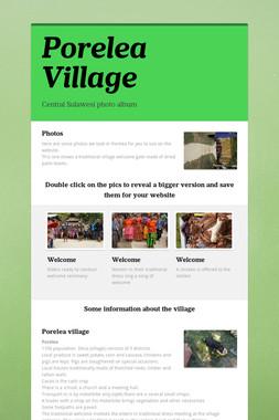 Porelea Village